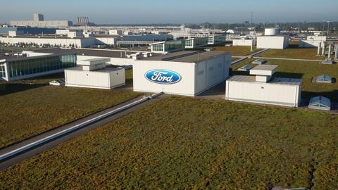 Conoce el techo viviente de Ford