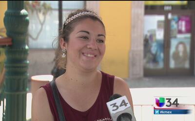 Carolina Uribe, joven latina con talento