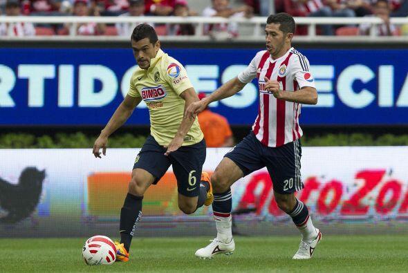 6.- Miguel Samudio: El lateral americanista sufrió demasiado con la velo...