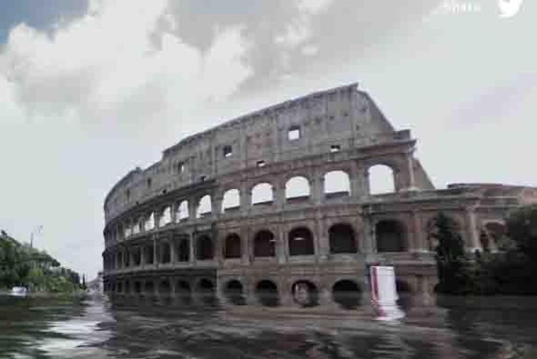 Imagina que cada gota del óceano se multiplicó en esta foto del Coliseo...