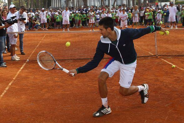 Novak Djokovic dejará la marca italiana Sergio Tacchini que siempre ha u...