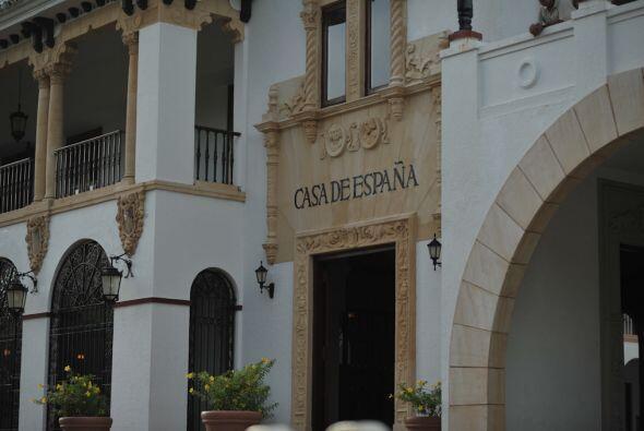 El lugar elegido por la pareja fue Casa España, en Puerto Rico, u...