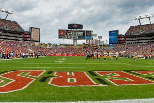 Domingo, Oct. 11 -- Jaguars vs. Buccaneers, Raymond James Stadium, Tampa...