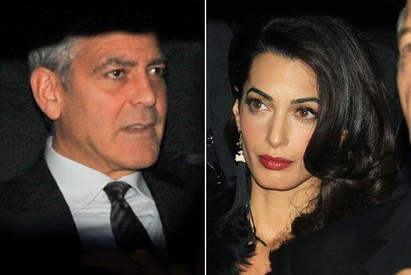 George Clooney y su nueva y flamante esposa Amal tuvieron un segundo fes...