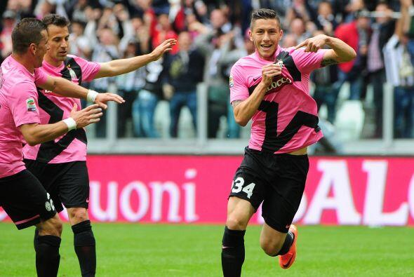 El cuadro de Turín se fue adelante en el marcador con un gol de L...
