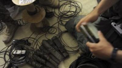 En el informe se revela el hallazgo de explosivos en un domicilio de la...