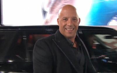 Estuvimos con Vin Diesel en Londres durante el estreno de su última pelí...