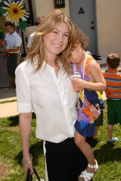 """Ellen Pompeo, la protagonista de """"Grey's Anatomy"""", es otra de..."""