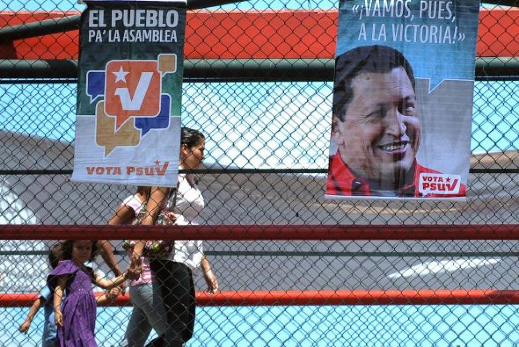 Chávez afirmó que el presunto triunfo de sus correligionarios en las par...
