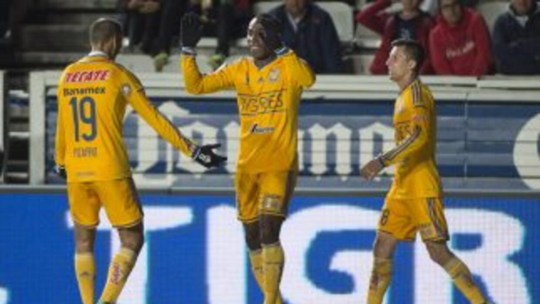 Joffrey Guerrón marcó el gol de Tigres.