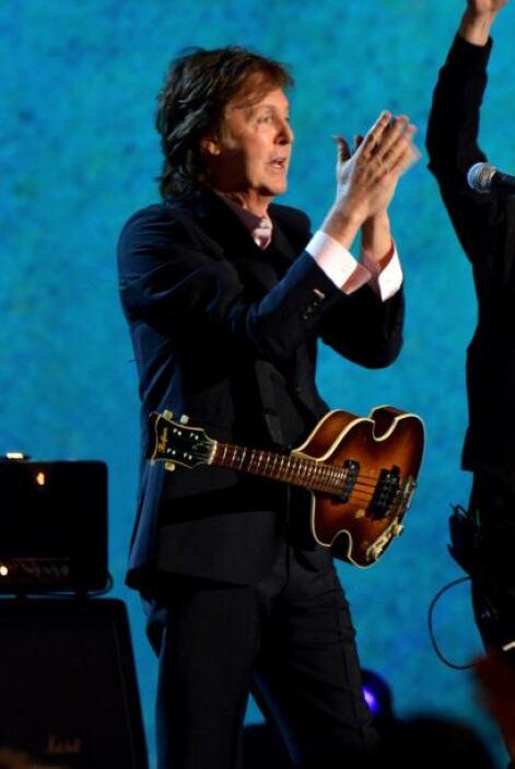 4. PAUL MCCARTNEY. La participación del ex Beatle en la ceremonia de ina...