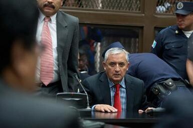 Juez ordena prisión provisional para Otto Pérez Molina