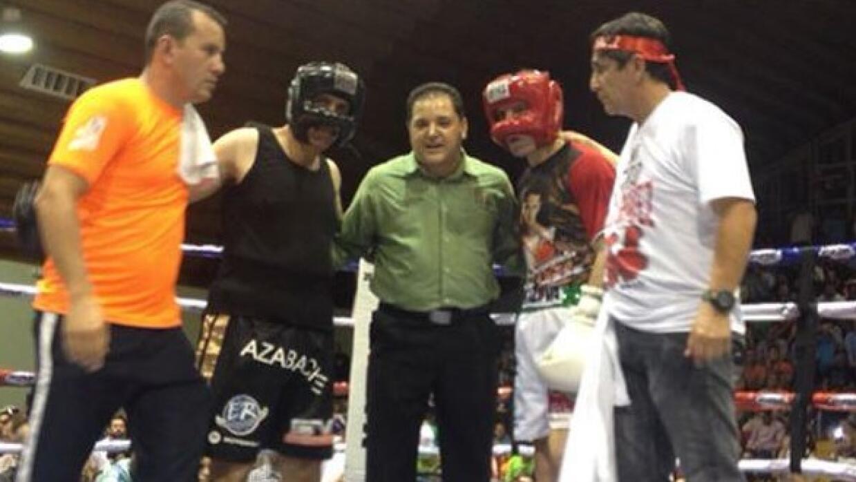 'Azabache' Martínez y Chávez (Foto: Twitter).