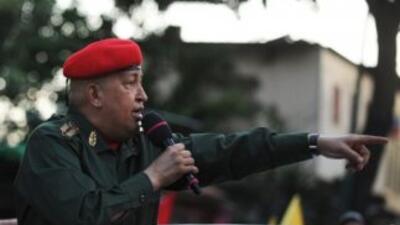 El presidente de Venezuela, Hugo Chávez, quiere estar perfectamente bien...