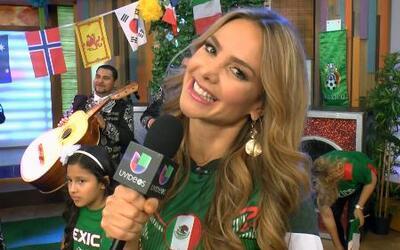 Ximena Córdoba está feliz de regresar a casita aunque quedó enamorada de...