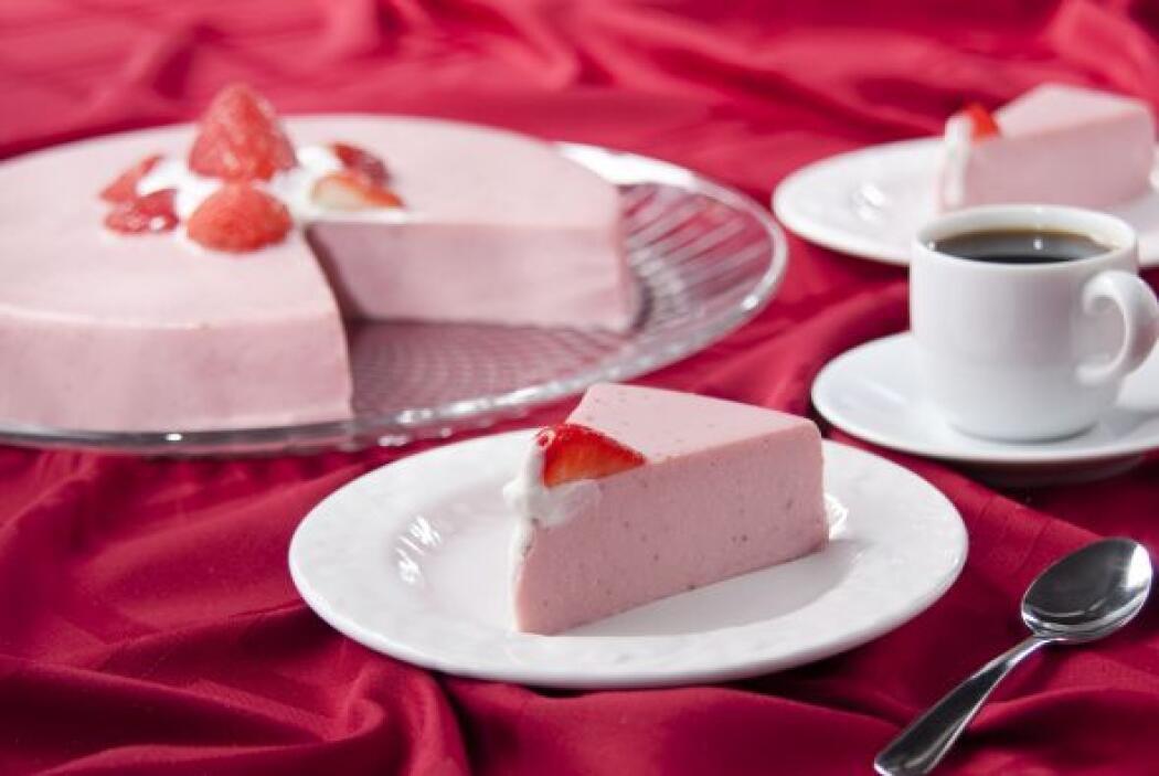 Gelatina cremosa de fresa: Esta temporada disfruta de un rico postre 100...