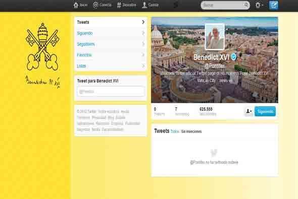 El 12 de diciembre de 2012, lanzó su primer tuit en la red Twitter, a tr...