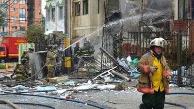 Una explosión en un barrio residencial de Bogotá deja 27 heridos colombi...