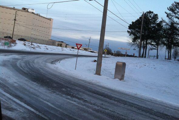 Este es el paisaje desde Carrolton, Georgia, según la imagen proporciona...
