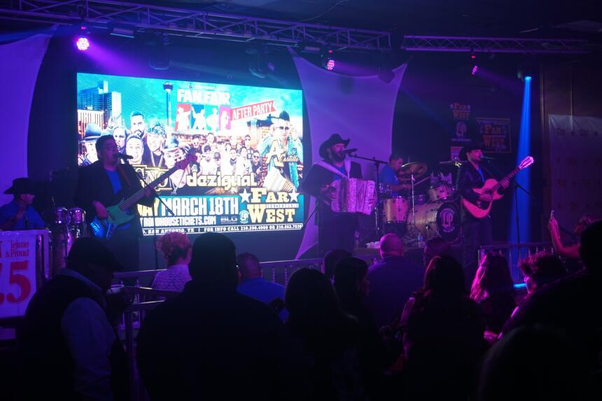 Megan Chapa, Johnny Lee Rosas, La Calma, Grupo Vision, Grupo Vidal, and...