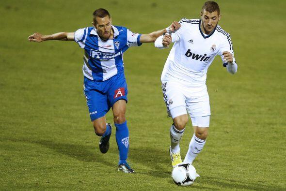 El Madrid jugaba con el rival y a la vez intentaba aumentar la cuenta.