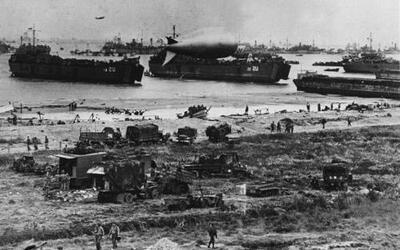 El 6 de junio de 1944 será recordado como el día en que comenzó la caída...