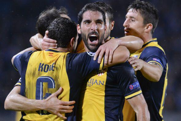 El Atlético de Madrid se colocó en lo más alto de s...