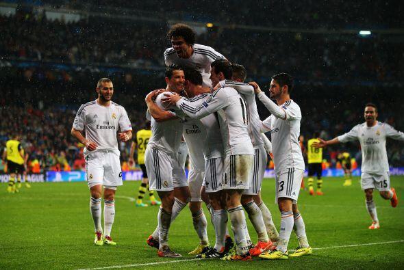 El rival fue el verdugo blanco en la edición pasada, el Borussia Dortmun...