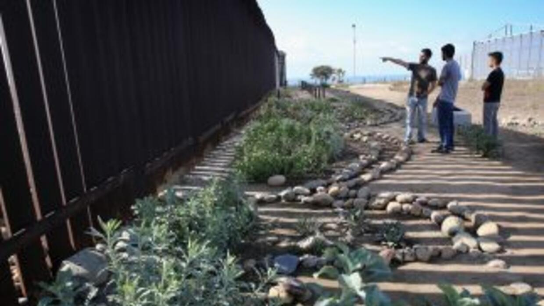 La frontera entre México y Estados Unidos.