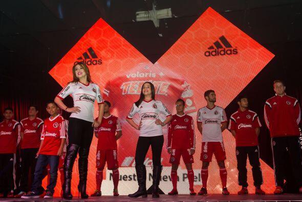 Los Xolos de Tijuana presentaron el uniforme con el que jugarán el Claus...
