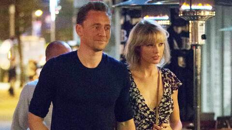 Tom Hiddleston es cuestionado sobre Taylor Swift