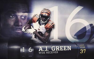 Top 100 Jugadores del 2016: (Lugar 16) WR A.J. Green