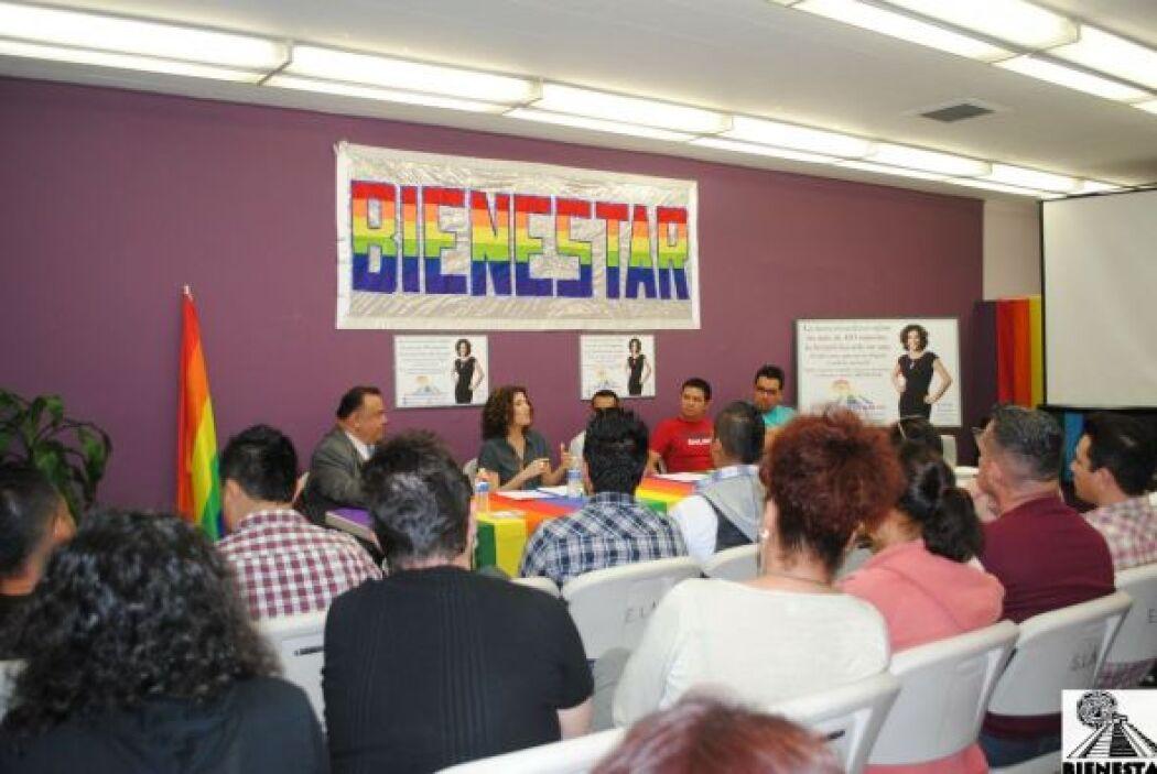 Daniela Ganoza habló con dichos grupos.