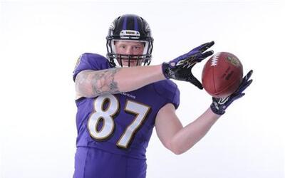 Las mejores tomas del TE novato de los Baltimore Ravens, egresado de Min...