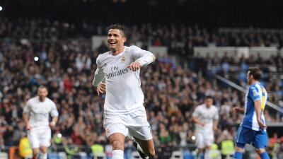 Real Madrid goleó sin piedad al Espanyol