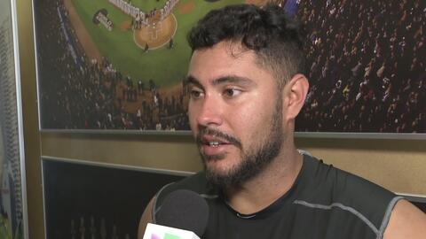 """Omar Narváez sobre Chicago White Sox: """"Hay que ganarse el puesto, todaví..."""