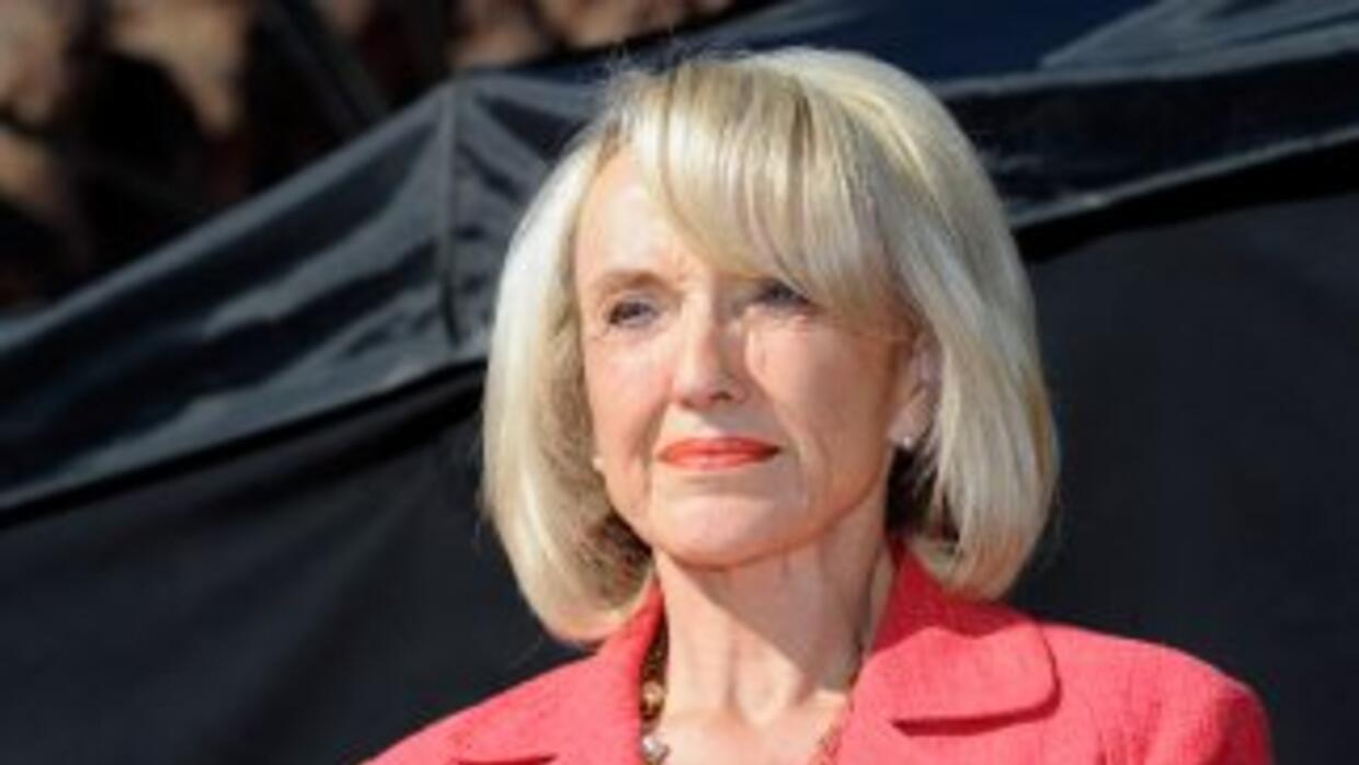 Jan Brewer, gobernadora de Arizona.
