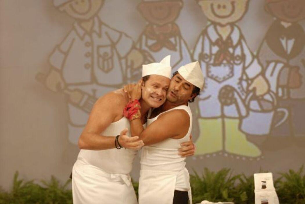 Raúl Araiza y Alan Tacher además de ser muy buenos amigos, hacen una gra...