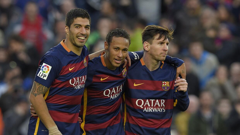 Suárez, Ney y Leo se llevan muy bien en el Barcelona