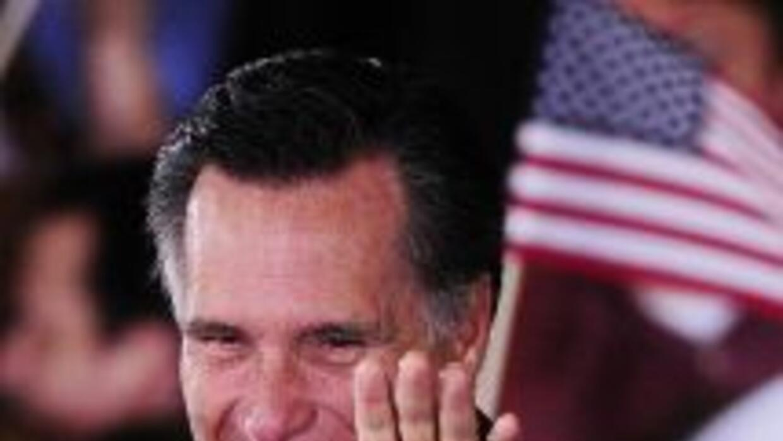 Mitt Romney confía en que será el candidato republicano que vencerá al p...