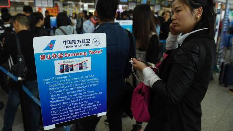 Pasajeros de diferentes aeropuertos ya experimentaban prohibiciones sobr...