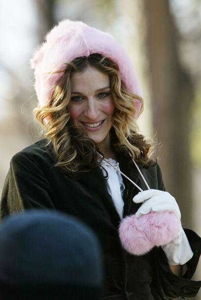 Adoramos los gorritos para el frío pero el de la actriz es demasi...
