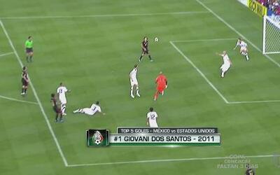 Top 5 de goles de México a Estados Unidos