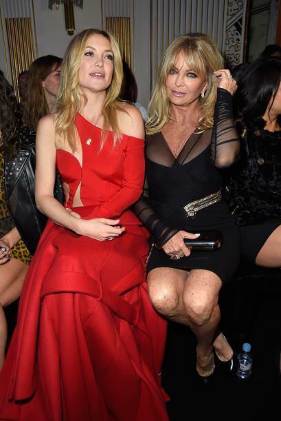 La famosa actriz estuvo acompañada de su mamá, la divertid...