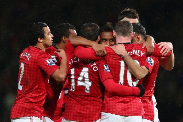 Manchester United goleó al  Fulham en la FA Cup, con un doblete de Javie...