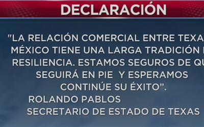 Sector industrial mexicano preocupado por una eventual cancelación o mod...