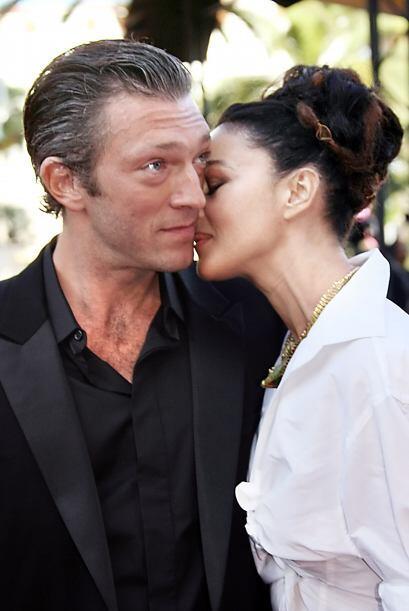 Cassel y Belucci tuvieron un matrimonio de 14 años y tienen dos hijos De...