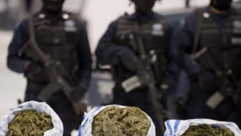 Militares mexicanos y la Guardia Costera de Estados Unidos incautaron 59...