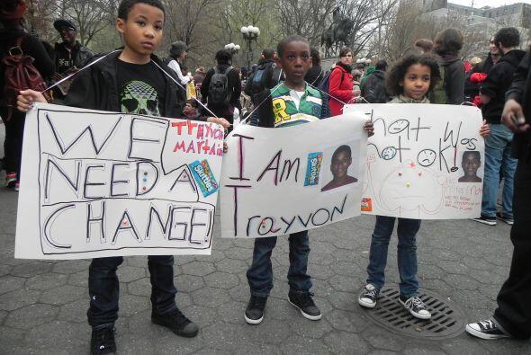 Marcha por Treyvon Martin, Union Square en Nueva York