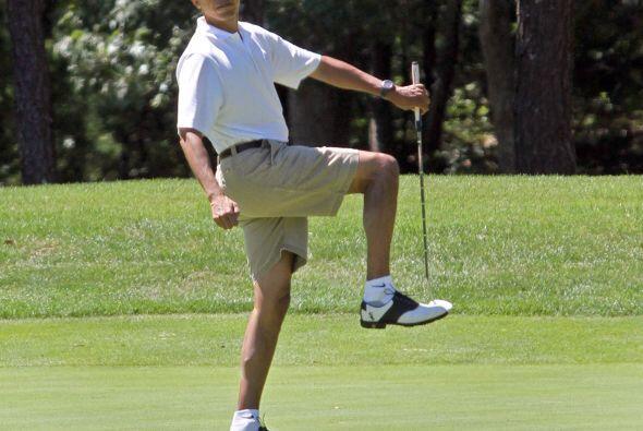 ¿Qué tal con esta pose del presidente de Estados Unidos?
